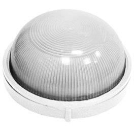 Светильник 100W IP-54 круглый белый ECOSTRUM
