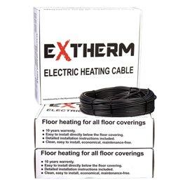 Теплый пол Extherm, кабель нагревательный двужильный  ETC ECO  20-3000, 3000 Вт 16.7-20.0 м
