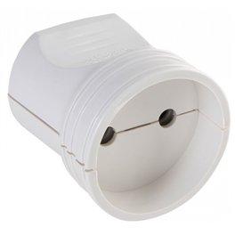 АСКО Гнездо прямое ЕВРО без з/к РП8529 (цвет Белый)