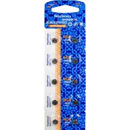 Батарейка в часы АСКО AG4 U-10 Alkaline G4,LR626
