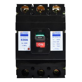 Автоматический выключатель 3p 630 А  ВА-2004N/630 Аско