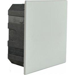 Распределительная коробка Аско 130х130х55мм внутренняя с крышкой по бетону