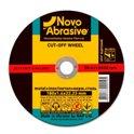 Диск отрезной по металлу NOVOABRASIVE T41 125*1,2*22,23мм A 46 S BF