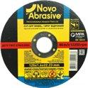 Диск отрезной по металлу NOVOABRASIVE T41 125*1,6*22,23мм A 36 S BF