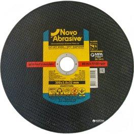 Диск отрезной по металлу NOVOABRASIVE T41 300*3,0*32мм A 24 P BF