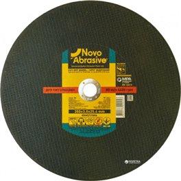 Диск отрезной по металлу NOVOABRASIVE T41 350*3,0*25,4мм A 24 P BF