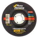 Диск шлифовальный по металлу NOVOABRASIVE Extreme T27 125*6,0*22,23мм A 24 R BF