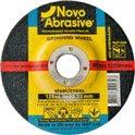 Диск шлифовальный по металлу NOVOABRASIVE T27 125*6,0*22,23мм A 24 R BF