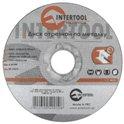 Диск отрезной по металлу 115*1.0*22.23мм Intertool CT-4001