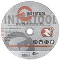 Диск отрезной по металлу 230*2.0*22.23мм Intertool CT-4016