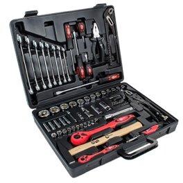 Набор инструментов 1/4 и 1/2 72ед 4-32мм CrV PROF Intertool ET-6073