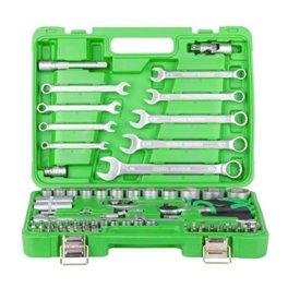 Набор инструментов 1/4 и 1/2 82ед 4-32мм Intertool ET-6082SP