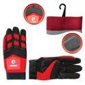 Перчатки Microfiber тканевые 9 вставки спандекса и неопрена Intertool SP-0143