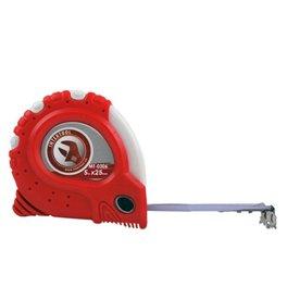 Рулетка 5м*25мм фиксатор Супер магнит Intertool MT-0306