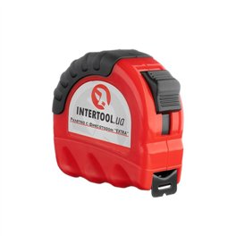 Рулетка 8м*25мм фиксатор Extra Intertool MT-0208