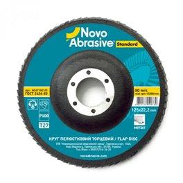 Круг лепестковый Novoabrasive 125*22.23мм P120 T27
