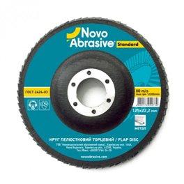 Круг лепестковый Novoabrasive 125*22.23мм P60 T27