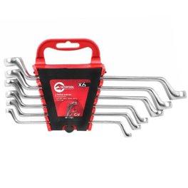 Ключи накидные 6шт 6-17мм CrV Intertool HT-1101
