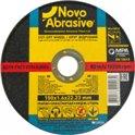 Диск отрезной по металлу Novoabrasive 150*1.6*22.23мм