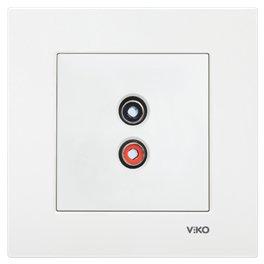 Розетка аудіо Vi-ko Karre