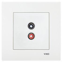 Розетка аудио Vi-ko Karre