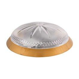 Світильник ERKA одна тисяча сто сорок дев'ять-G, настінний, 2х26W, прозорий-золото, Е27, IP20