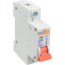 Автоматичний вимикач ЕСО 1р C 20А ECOHOME