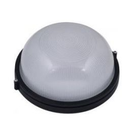 332 Светильник 100W IP-54 круг, черный MAGNUM MIF 010