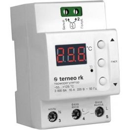 Терморегулятор Terneo RK 30 для котла (30А 6000ВА)
